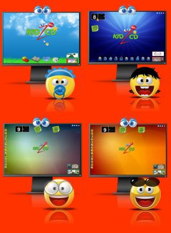Logo dos navegadores kidz CD
