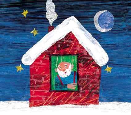 Postal Nadal Eric Carle