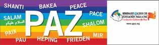 Pancarta Paz