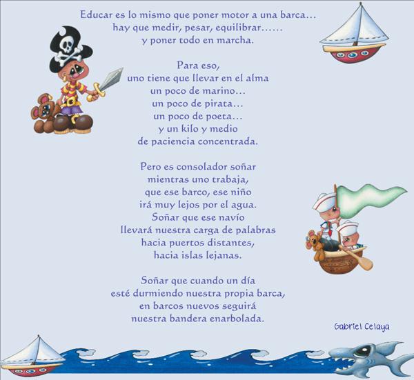 Educar- Poema Gabriel Celaya